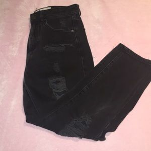 Garage Black Ripped Jeans size 3